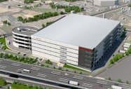 日本生命保険は関西で3例目の物流施設を建設する(イメージ図)