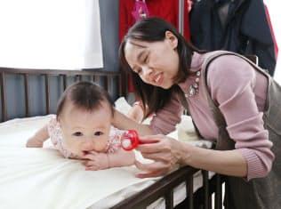 日本で出産したベトナム人のホー・ティ・バンさん(横浜市緑区)