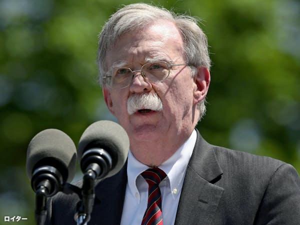 ボルトン大統領補佐官は日朝首脳会談の支持を表明(写真はロイター)