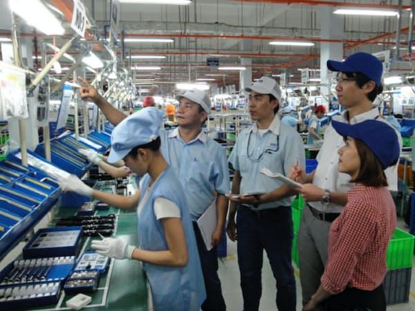 コニカミノルタはアジアの取引先工場でも省エネを指南