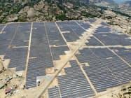 太陽光発電で東南アジアでの電力事業に参入した(ベトナムのカインホア省)