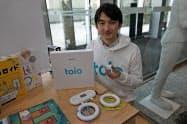 新規事業創出支援プログラムでは、デジタル玩具「トイオ」など14のアイデアが事業化した