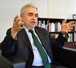 国際エネルギー機関(IEA)のビロル事務局長