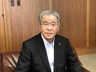 佐伯要(さえき・かなめ)1944年生まれ、松山市出身。2006年に伊予鉄道社長、15年に同社会長。16年から現職
