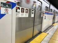 都営三田線ではすでにホームドアを設置している(同線春日駅)