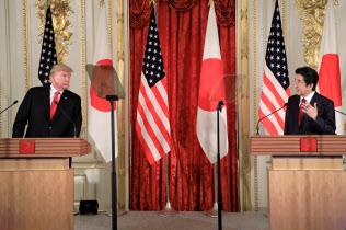 日米首脳共同記者会見では、TPPの3文字に緊張が走った