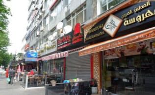 イスタンブールにある「リトル・シリア」ではラマダン中、昼間のレストラン営業はまばら