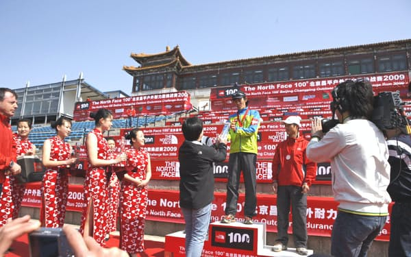 中国との付き合いが始まったのは2009年、北京のレースで優勝したのがきっかけ