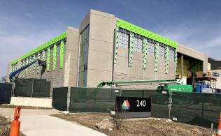 超高速スパコン「オーロラ」を収納するビルを建設中のアルゴンヌ国立研究所(米イリノイ州)