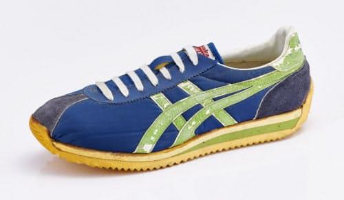 77年発売のジョギングシューズ「モントリオール2」は一般の人にも親しまれる商品に