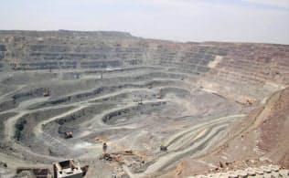 レアアースはEV向けの需要増加が見込まれる(中国のレアアース鉱山)