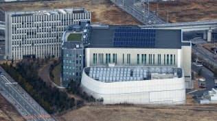 スパコン「富岳」はいまの「京」の後継機になる(神戸市の理化学研究所計算科学研究センター)