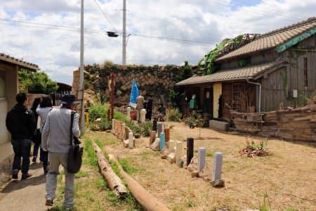 香川県の女木島は、前回の瀬戸芸と比べて来場者が倍に(4月27日)