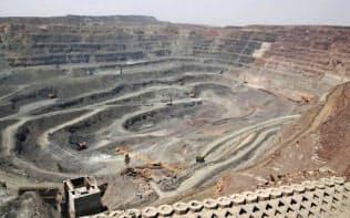 米国防総省がレアアースの対中依存低減策を米議会に説明した(中国のレアアース鉱山)