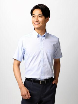 キシリトール成分を配合した青山商事の「涼感ビジネスシャツ」