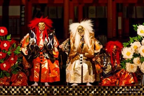 70回の記念で上演する観世流能「石橋」=京都能楽会提供