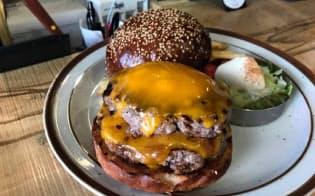 トランプ氏にも提供した特製ハンバーガー