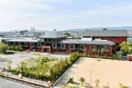学校法人「森友学園」が国有地で計画していた小学校(30日、大阪府豊中市)