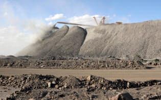 中国内モンゴル自治区にあるレアアース採掘場=ロイター
