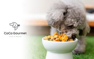 バイオフィリアの犬用栄養食「ココグルメ」