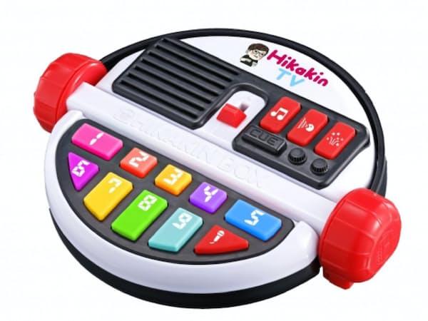 バンダイが8月に発売する「だれでも動画クリエイター!HIKAKIN BOX」