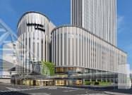 ヨドバシ梅田タワーの完成イメージ図