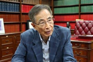 香港民主派の重鎮、李柱銘氏は「自由がない偉大な国はあり得ない」と話す