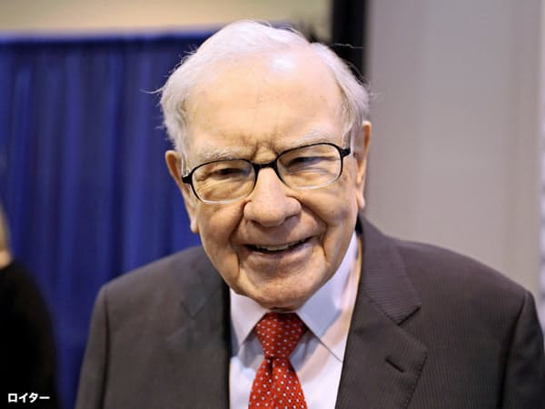 著名投資家ウォーレン・バフェット氏は仮想通貨に懐疑的=ロイター