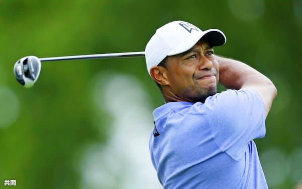 今年の全米オープンゴルフはウッズが19年前に圧勝したペブルビーチ・ゴルフリンクスを舞台に行われる=共同