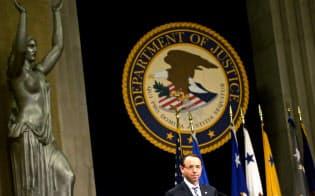 米司法省は米連邦取引委員会とGAFAに対する捜査の管轄で合意した=ロイター