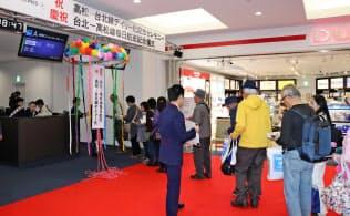 高松―台北便は3月下旬から毎日運航となった
