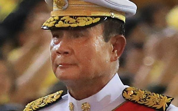 タイのプラユット暫定首相=三村幸作撮影