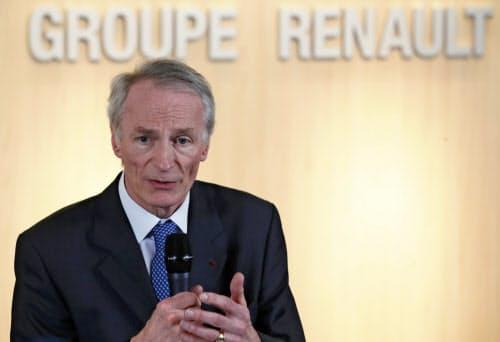 ルノーはFCAとの経営統合案について、継続協議を決めた=AP