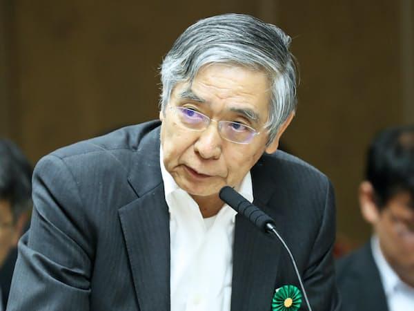 日銀の黒田総裁