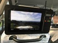 富山交通はタブレットで県の観光情報を発信している