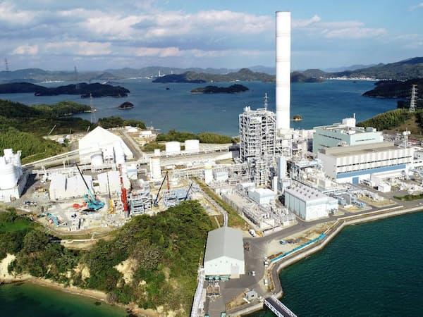 Jパワーと中国電力はCO2の有効活用へ実証実験を進める(広島県大崎上島町)