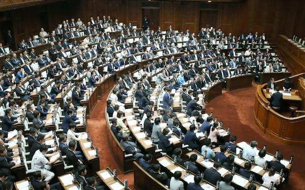 丸山穂高議員に対する「糾弾決議案」を全会一致で可決した衆院本会議(6日)