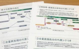 原子力委の小委がまとめたサイクル政策の選択肢には直接処分方式も盛り込まれた