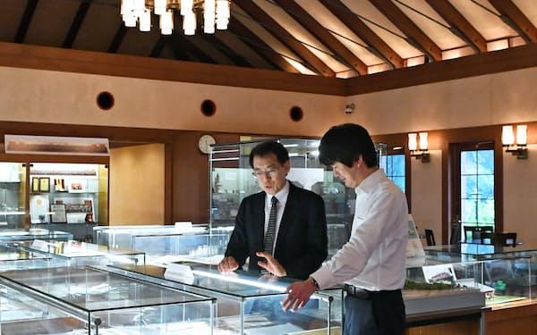 伝染病研究所時代の厩舎を模した造りの近代医科学記念館(東京都港区)