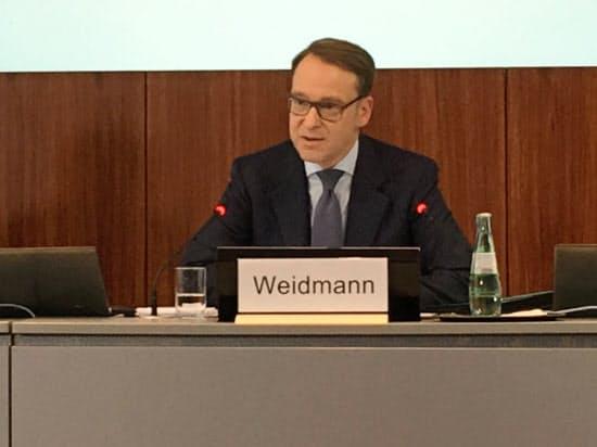ドイツ連邦銀行のワイトマン総裁
