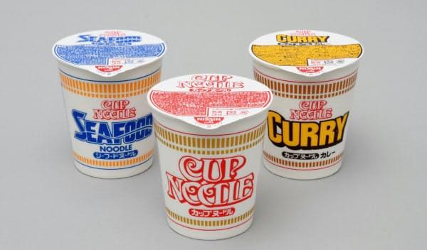 日清食品HDは主力カップ麺「カップヌードル」で植物由来のプラスチックを使った容器を導入する