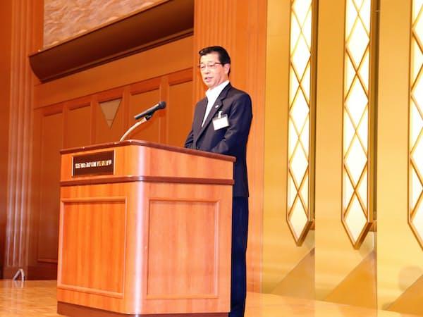 四国経済連合会の会長に、佐伯勇人・四国電力社長が就任した