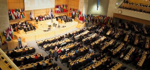 10日にスイス・ジュネーブの国連欧州本部で始まったILOの年次総会