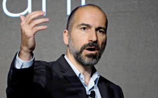 ウーバーのコスロシャヒ最高経営責任者(CEO)は幹部辞任に直面=ロイター