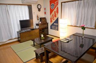 マグロハウスは一軒家を利用した民泊物件(大阪市)