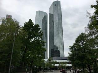 ドイツ銀行のフランクフルト本部