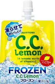 サントリー食品インターナショナルが発売する「CCレモン フローズン」