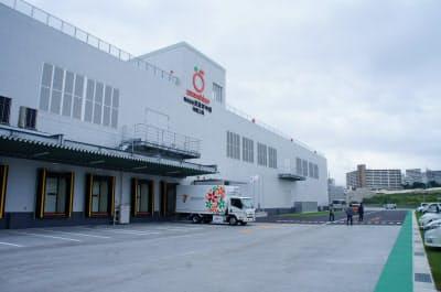 武蔵野沖縄の工場は7月に本格稼働する