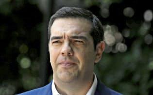 ギリシャのチプラス首相=ロイター