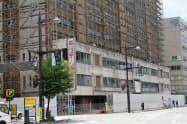 ホテルJALシティ富山は旧富山ステーションホテルの跡地に建設される(富山市)